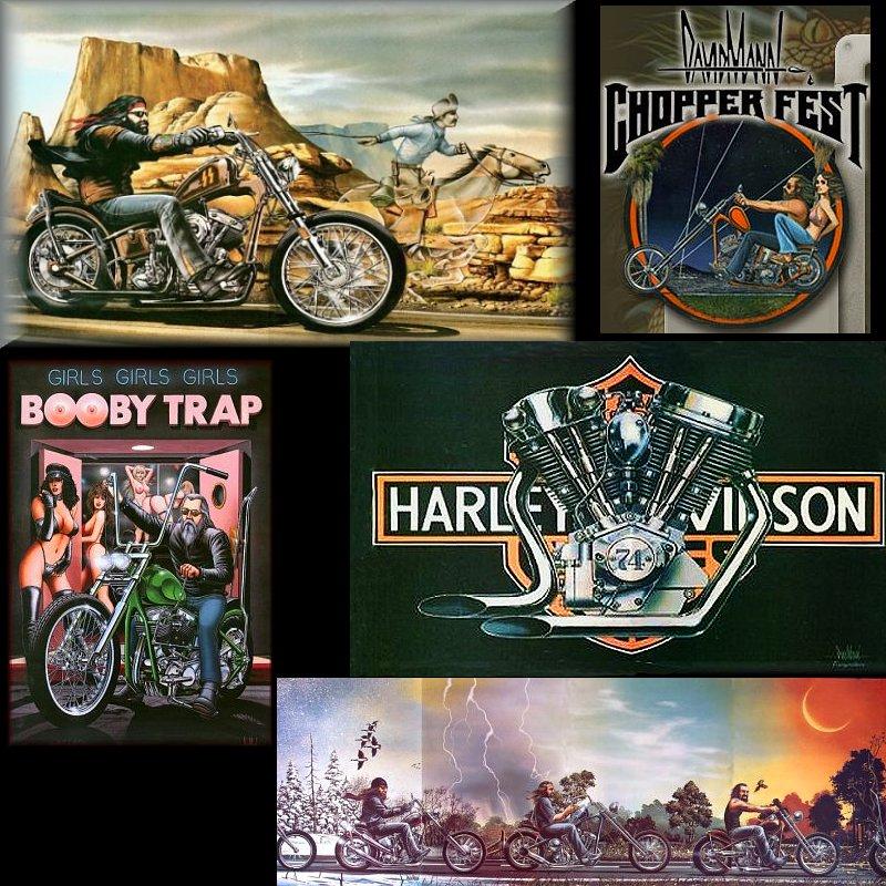 dudeworld david mann biker artist and legend
