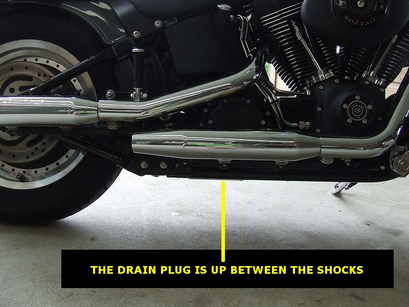 Harley tranny oil change